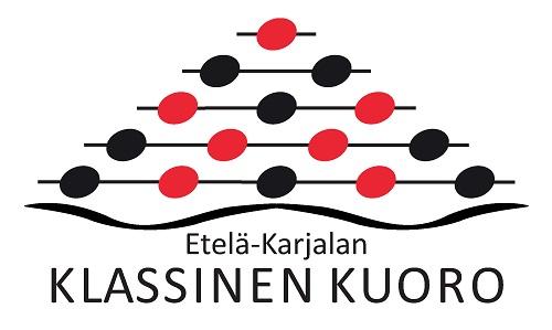 Klassisen kuoron punamusta logo